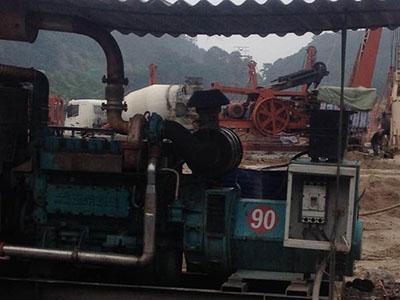 恒大集团300kw-350kw桩机供电
